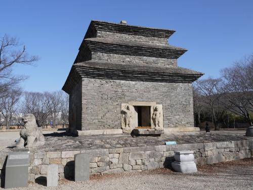 경주 분황사지 모전석탑