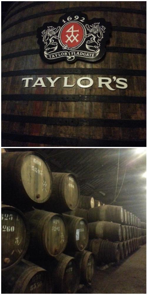1692년 만들어진 유구한 역사의 테일러 와이너리의 와인 저장소