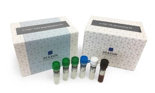 시선바이오머티리얼스가 지난 13일 출시한 감염성 영아 난청 검사키트 '유톱CMV디텍션키트(U-TOP CMV Detection Kit)'