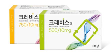 국제약품이 2019년 1월 출시하는 당뇨·이상지질혈증 복합치료제 '크레비스정'