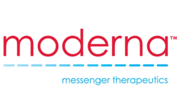 미국 정부의 전폭적 지지 아래 코로나19 백신을 개발 중인 모더나테라퓨틱스 로고