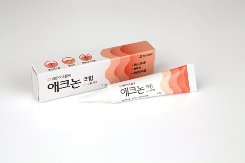 동아제약의 여드름 치료제 '애크논크림'