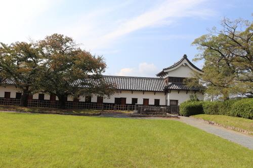 후쿠오카성 서편의 옛 무기고 건물